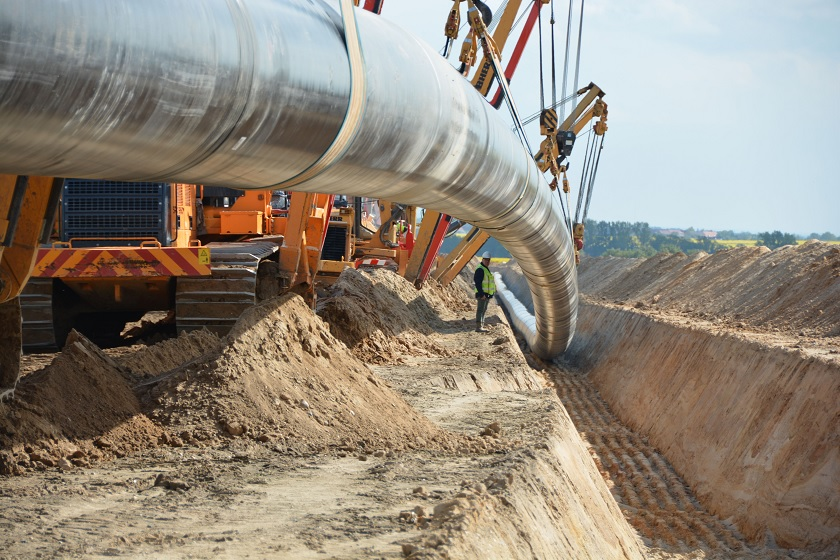 The EUGAL pipeline in Germany, the onshore extension of the Nord Stream 2 gas pipeline, can now move up to 55 billion cubic metres of natural gas per year. / gasnews.eu